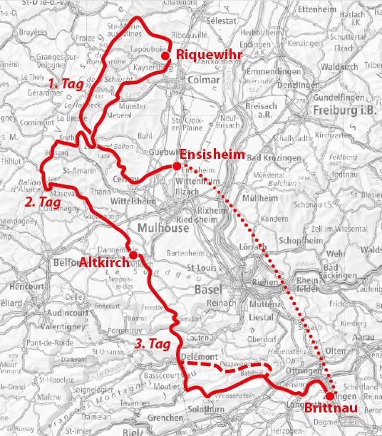 Paessetour Strecke